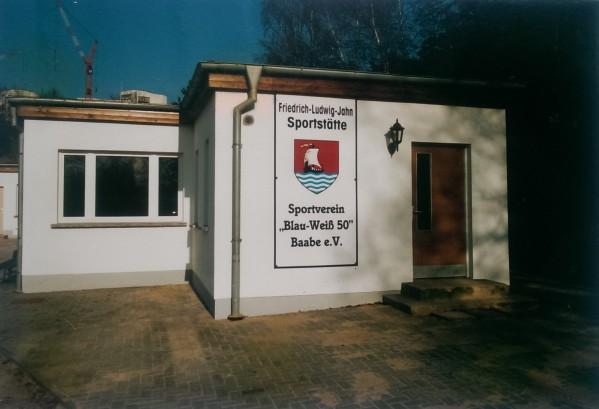 Sportlerheim Friedrich-Ludwig-Jahn Sportstätte Baabe