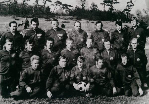 Baaber wurden mit Trainingsanzügen von den Nationalmannschaften der DDR kostenlos ausgestattet.
