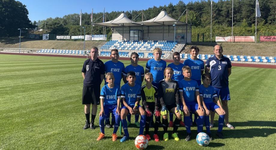 D-Jugend SV BW 50 Baabe Saison 2021/2022