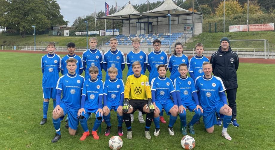 B-Jugend SV Blau-Weiß 50 Baabe 2018/2019