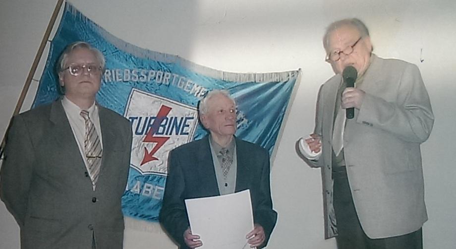 Dieter Mathis, Günter Bull und Alfred Yström