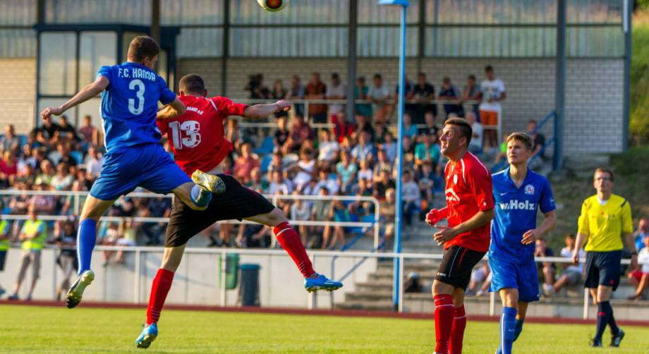 FC Hansa Rostock Amateure zu Gast in Baabe