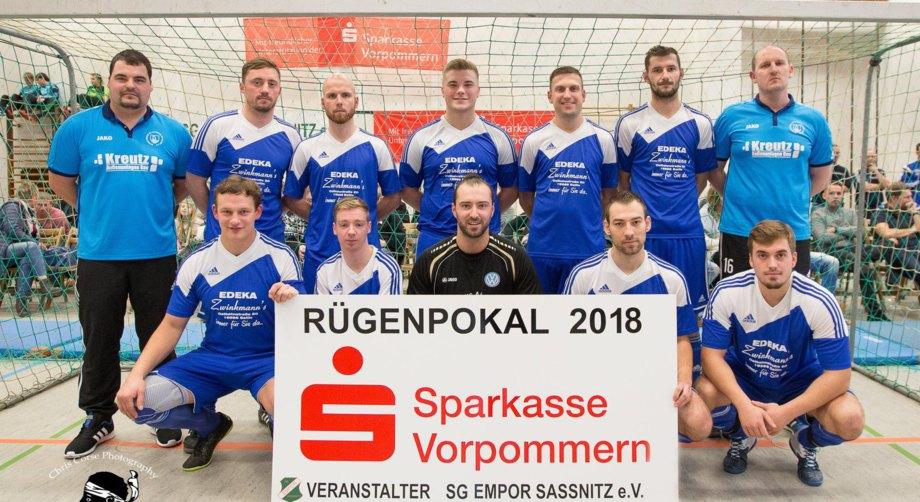 Rügenpokal 2018 - SV Blau-Weiß 50 Baabe